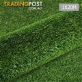 Artificial Grass 20 SQM Polypropylene Lawn Flooring 1X20M Olive Green