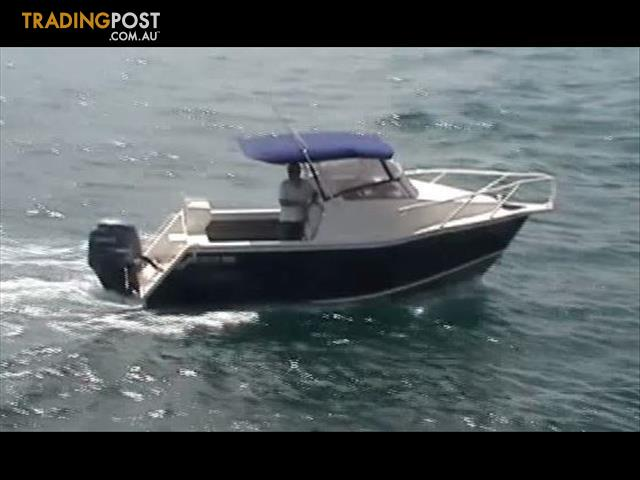 Sabrecraft 6 5m Aluminium Cuddy Cabin Boat