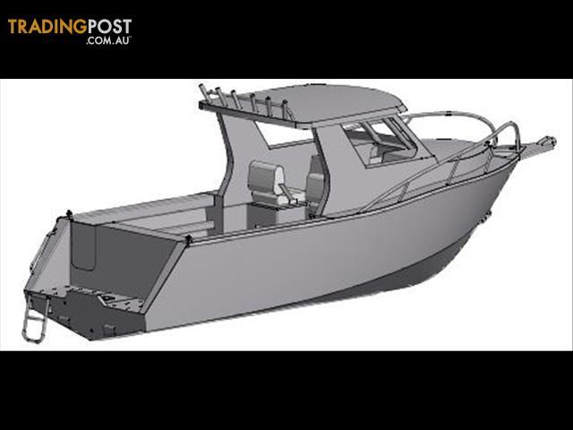 Sabrecraft 7 50m Aluminium Half Cabin Boat For Sale In