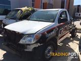 WRECKING - 2007 Toyota Hilux 150 workmate ALL PARTS