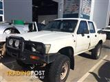 WRECKING - Toyota Hilux 1991 Dual Cab Manual 4x4 FOR PARTS