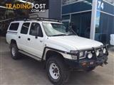 WRECKING - 2001 Toyota Hilux LN167 4x4 Dual Cab Turbo Diesel Manual