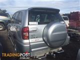 WRECKING - Toyota RAV4 2005 4 door wagon Petrol Manual