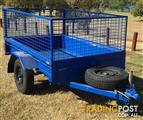 7 x 4 Box trailer with cage