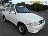 2005 SSANGYONG MUSSO SPORTS  DUAL CAB PUP