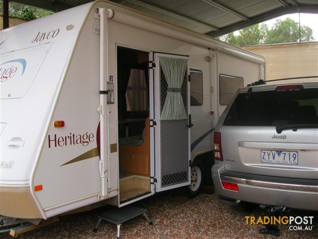 2004 Jayco Heritage Caravan. 21 ft. Ensuite, AC and full canvas annexe