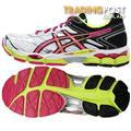 NEW Asics Women's Gel Cumulus 16 Running Shoes - White Hot Pink & Black Size 10