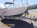 455 SAVAGE BAYCRUISER 60 HP 4 FOUR STROKE MERCURY BOAT TRAILER