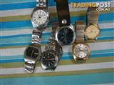 VARIOUS  WATCHES  FOR  SALE  SEIKO  LORUS  GUESS  CITIZEN  FROM $40EA