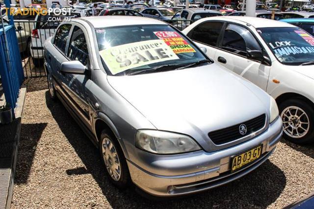 2001 holden astra cd ts 4d sedan for sale in minchinbury nsw 2001 rh tradingpost com au Black Holden Astra 2001 Holden Astra