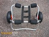BRAND NEW KAYAK/CANOE CARRIER-TROLLEY **HEAVY DUTY 80KG RATED**