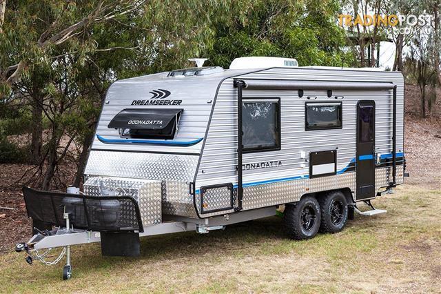 """New caravan - 2016 Dreamseeker Oodnadatta Ultimate - 19'6"""" Off road caravan, Solar, Ensuite"""