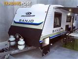 "2016 Dreamseeker Banjo 21'10"" - On road caravan, New caravan, Family van / Bunk van, Full oven"