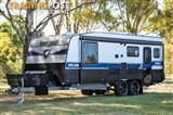 NEW Grand Salute Royal Guard Series II - 22' Off Road caravan, Club Lounge, Leather, ESC, Grey Water