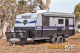 "NEW Grand Salute Jubilee - 21' Off Road caravan, External Shower, Solar, 16"" Alloy Wheels"