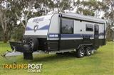 2016 Grand Salute Grand Duke - 20' Semi Off Road caravan, Oven, External Shower