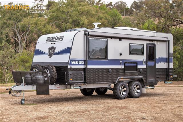 Grand Salute Grand Duke - 20' Semi Off Road caravan, Full Oven, External Shower