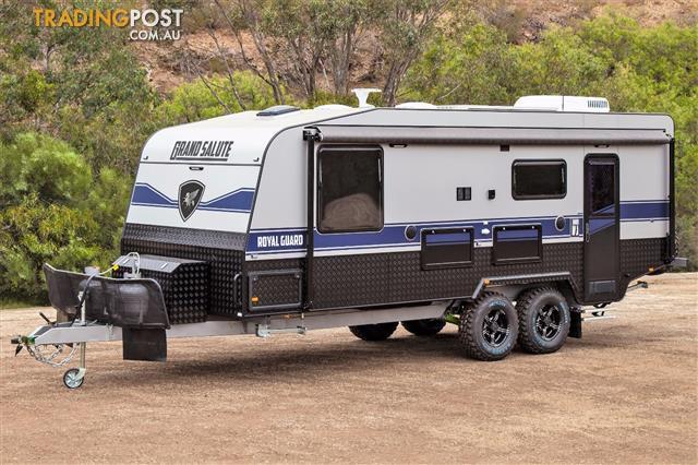 "NEW Grand Salute Royal Guard - 22' Off Road caravan, Leather, Solar, 16"" Alloy wheels"