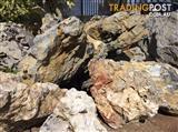 $3/kg Seiryu Rocks, $12/18kg! Crystal Snow White DECORATIVE pebbles!