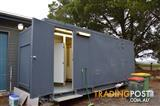 Portable Ablution block with 3 showers & 3 Toilets & Laundry