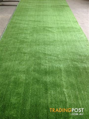 12mm Thick Artificial Grass - Brand New Fake Synthetic Turf - SOLD IN ROLLS