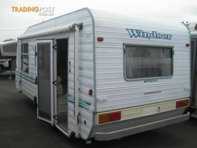 2001 Windsor Streamline 18 Foot Caravan For Sale In Port