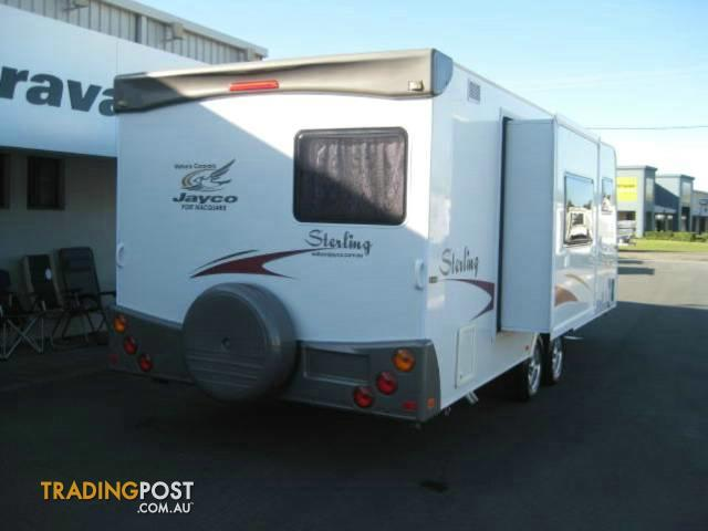 New 2007 CARAVAN JAYCO STERLING 23723 CARAVAN For Sale In Port Macquarie