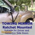 Towing Mirrors X 2- Ratchet Mounted
