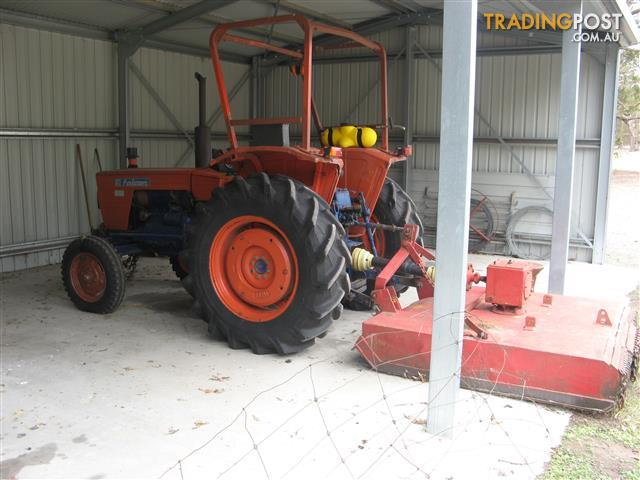 Same Falcon Tractor 50hp diesel with attachments as listed below.