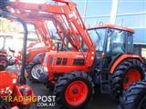 Kioti DK90 secondhand tractor with loader