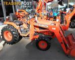 Used Kubota B2140 with loader and standard bucket - REDUCED TO CLEAR