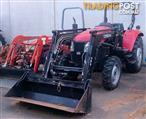 Secondhand YTO50 tractor with loader and 4-1 bucket