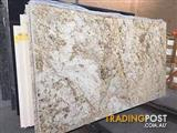 African Gold Granite Slabs for Kitchen Benchtops