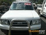 2004  FORD COURIER GL CREW CAB  UTILITY