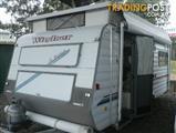 1999  CARAVAN WINDSOR WINDCHEATER  1676-1 POP TOP