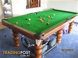 8FT Pool Table and Wall Mounted Scoreboard