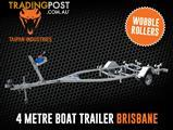 Boat Trailer 4M Drive-On Wobble Roller Tinny Seajay Quintrex Stacer Brisbane QLD