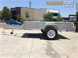 IceBear Box Trailer 8X5 Box Trailer Hot Dip Galvanized+Jocky Wheel+Tilt Heavy Duty
