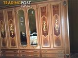 5 piece Franco cozzo antique furniture