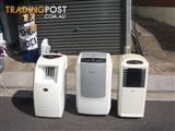 portable air conditioners  1 1/2  io  2h .p .