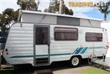 WINDSOR SUNCHASER POP-TOP CARAVAN