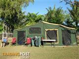 GIC Off Road Camper Trailer 18ft Tent