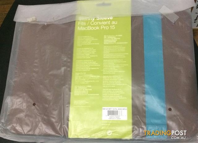 "Acme Made 15"" MacBook Pro Skinny Sleeve - Java/Teal"