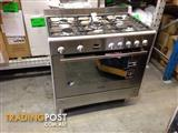 Omega 90cm freestander with a 9 function electric oven save 20%