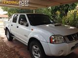 2011 NISSAN NAVARA ST-R (4x4) D22 MY08 DUAL CAB P/UP
