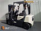 Crown Forklift Diesel Container Mast Sideshift 2.5 Tonne Sydney Orange
