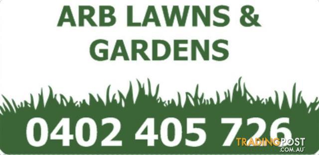 Wanted: ARB LAWNS & GARDENS
