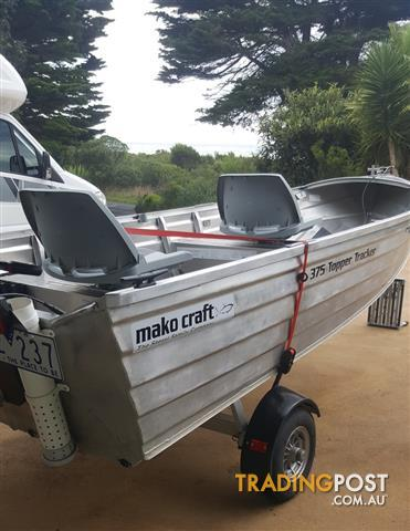 Makocraft Topper Tracker Dinghy