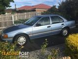 1993 FORD FALCON GLi ED 4D SEDAN