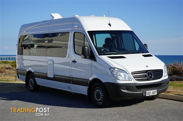 Mercedes Benz Rv >> New Mercedes Sprinter Rv Motorhome Campervan